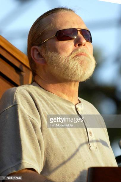 Gregg Allman of the Allman Brothers Band performs during day one of the Austin City Limits Music Festival at Zilker Park on September 23, 2005 in...
