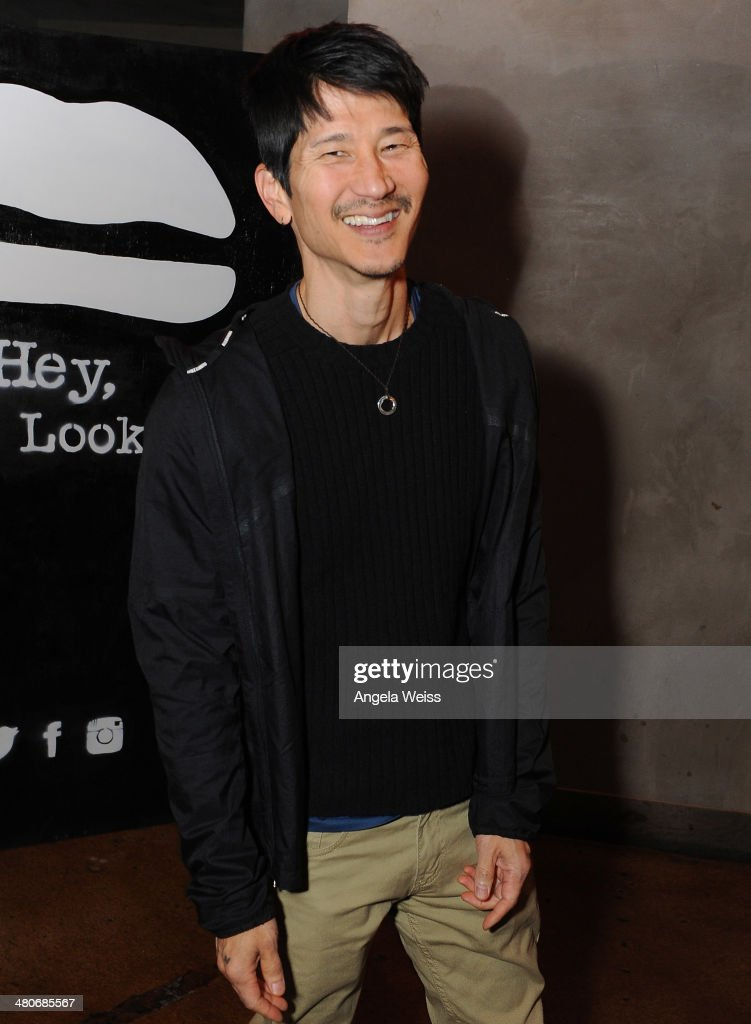 Gregg Araki attends the premiere after party of A24's 'Under The Skin' at Umami Burger on March 25, 2014 in Los Angeles, California.