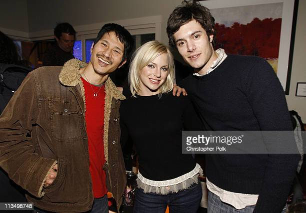 Gregg Araki Director of 'Smiley Face' Anna Faris and Adam Brody