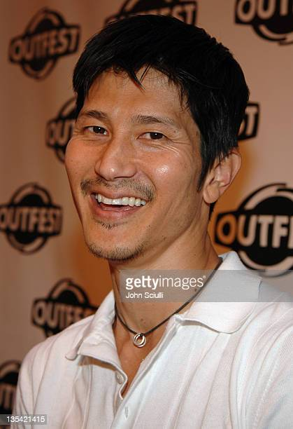 Gregg Araki during Outfest 2005 - Opening Night Gala at Orpheum Theatre in Los Angeles, California, United States.