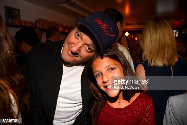 Gregg Bello and Misha Gelman attend Michael Gelman Celebrates The Launch Of CLASS MOM A Novel By Laurie Gelman at Loi Estiatorio on July 26 2017 in...