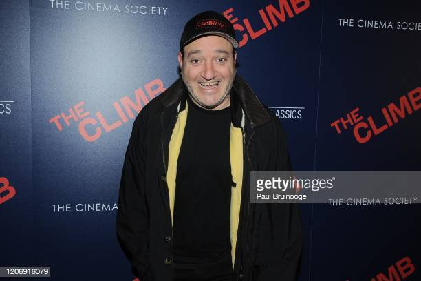 Gregg Bello attends Sony Pictures Classics And The Cinema Society Host A Special Screening Of The Climb at iPic Theater on March 12 2020 in New York...