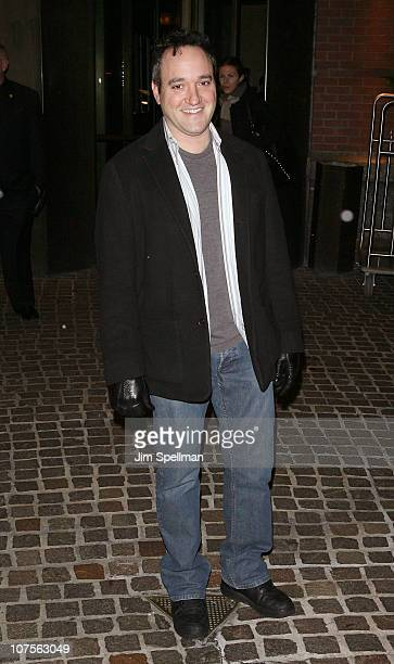 Gregg Bello attends the Cinema Society Piaget screening of Blue Valentine at theTribeca Grand Hotel on December 13 2010 in New York City