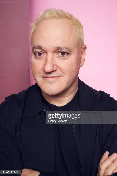 Gregg Bello of the film 'Crown Vic' poses for a portrait during the 2019 Tribeca Film Festival at Spring Studio on April 26 2019 in New York City