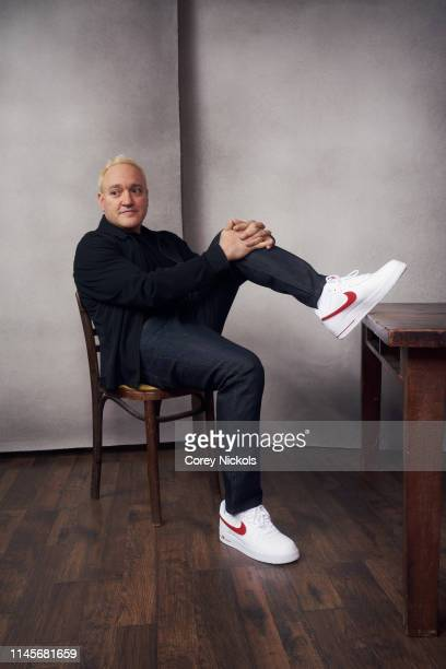 Gregg Bello of the film 'Crown Vic' poses for a portrait during the 2019 Tribeca Film Festival at Spring Studio on April 27 2019 in New York City