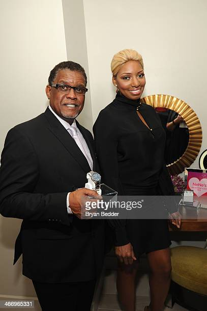 Gregg Leakes and NeNe Leakes attend the Shop Your Way #RealPersonal event at Ink48 on February 5, 2014 in New York City.