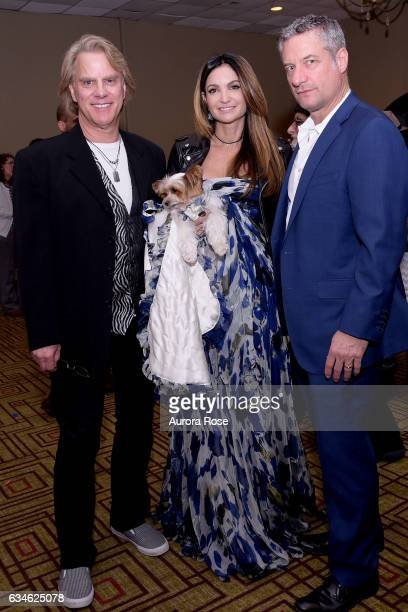 Gregg Oehler Mila Beth ShakLeventhal and Rick Leventhal attend Beth ShakLeventhal Awarded NY Pet Fashion Show Humanitarian Award at Hotel...