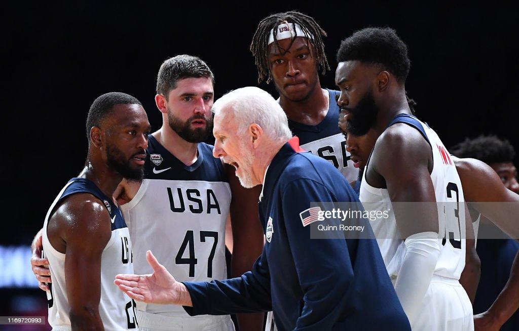 Australia v Team USA: Game 1 : News Photo