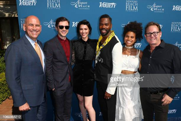 Gregg Schwenk CEO Executive Director Newport Beach Film Festival Topher Grace Mary Elizabeth Winstead Colman Domingo Zazie Beetz and Todd Quartararo...