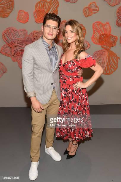 Gregg Sulkin and Ashley Greene attend the POPSUGAR x Freeform Mermaid Museum VIP Night at Goya Studios on March 21 2018 in Los Angeles California