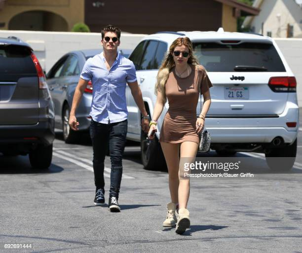 Gregg Sulkin and Bella Thorne are seen on June 05 2017 in Los Angeles California