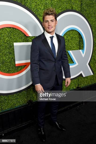 Gregg Sulkin attends the 2017 GQ Men of the Year party at Chateau Marmont on December 7 2017 in Los Angeles California