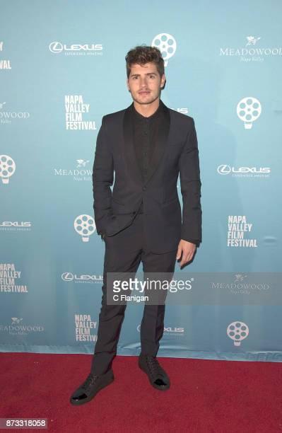 Gregg Sulkin attends the Festival Gala at CIA at Copia during ithe 7th Annual Napa Valley Film Festival on November 11 2017 in Napa California