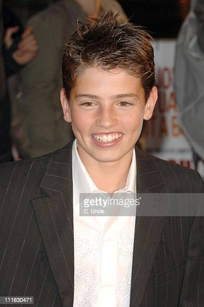 Gregg Sulkin during 'Sixty Six' UK Film Premiere Red Carpet at Empire Leicester Square in London Great Britain