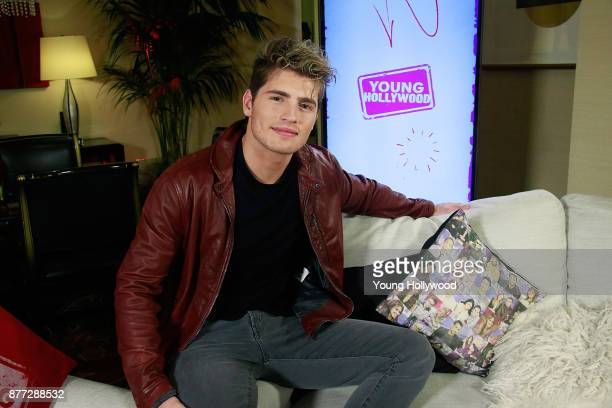 Gregg Sulkin from Marvel's Runaways visits the Young Hollywood Studio on November 21 2017 in Los Angeles California