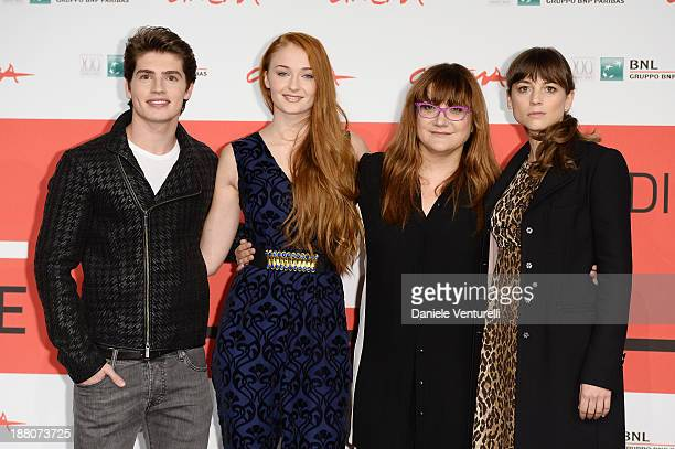 Gregg Sulkin Sophie Turner Isabel Coixet and Leonor Watling attend the 'Another Me' Photocall during the 8th Rome Film Festival at the Auditorium...