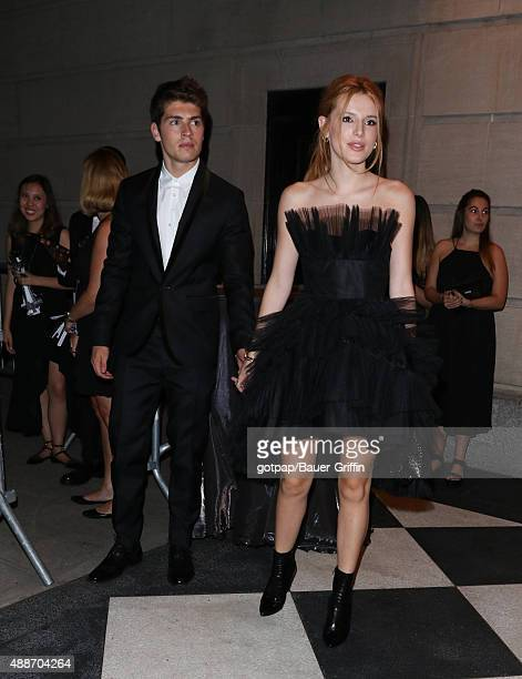 Gregg Sulking and Bella Thorne are seen on September 16 2015 in New York City