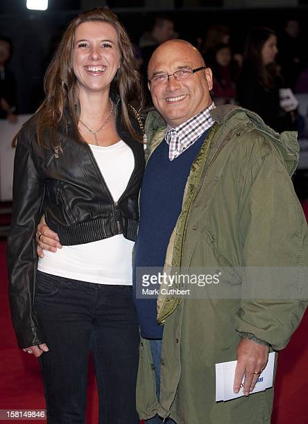 Gregg Wallace And Wife Heidi Arriving For The European Premiere Of Brighton Rock At The Odeon Leicester Square, London.