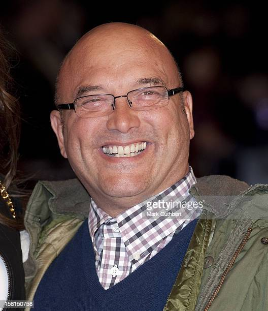 Gregg Wallace Arriving For The European Premiere Of Brighton Rock At The Odeon Leicester Square, London.