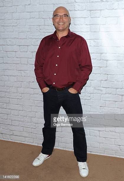 Gregg Wallace attends a book signing at The Ideal Home Show on March 18, 2012 in London, England.