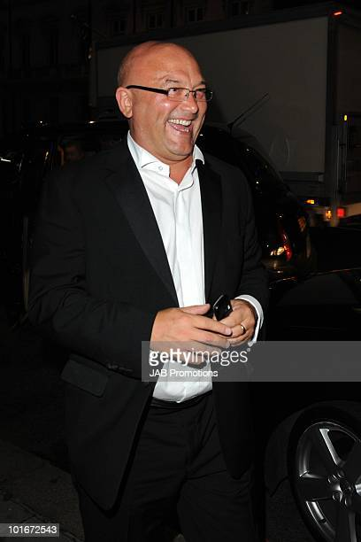 Gregg Wallace attends the after party for the Philips British Academy Television awards at Natural History Museum on June 6, 2010 in London, England.