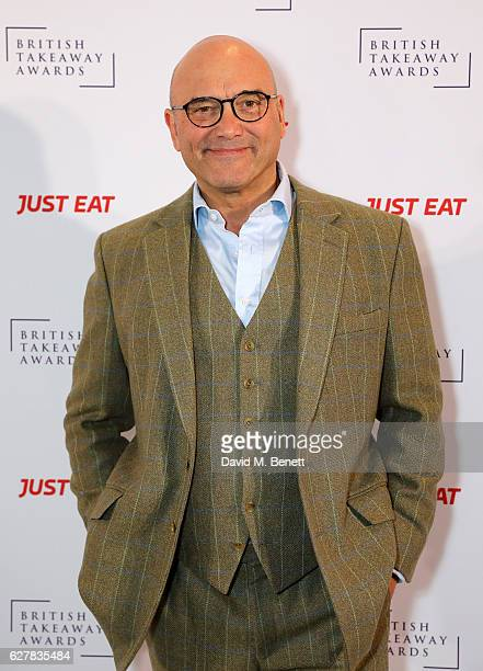Gregg Wallace attends the annual British Takeaway Awards, in association with Just Eat at the Savoy Hotel, in London. The Annual awards are held to...