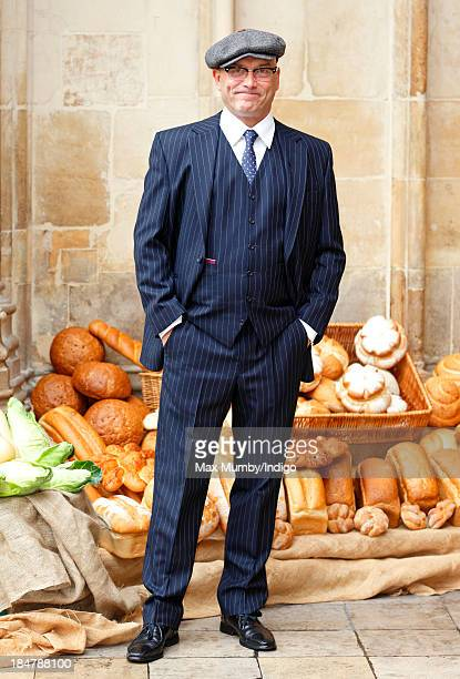 Gregg Wallace attends The British Food Fortnight's Harvest Festival service at Westminster Abbey on October 16, 2013 in London, England.