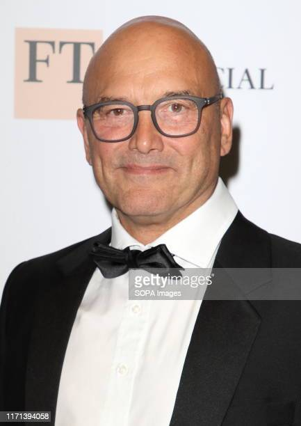 Gregg Wallace attends The Childline Ball 2019 partnered with MasterChef for this year's theme at Old Billingsgate in London.