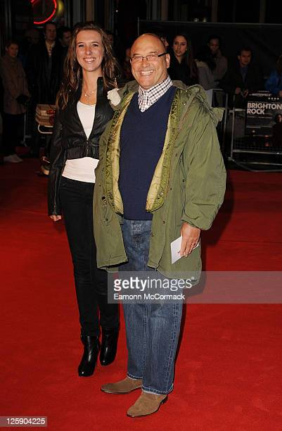 "Gregg Wallace attends the European premiere of ""Brighton Rock"" at Odeon West End on February 1, 2011 in London, England."
