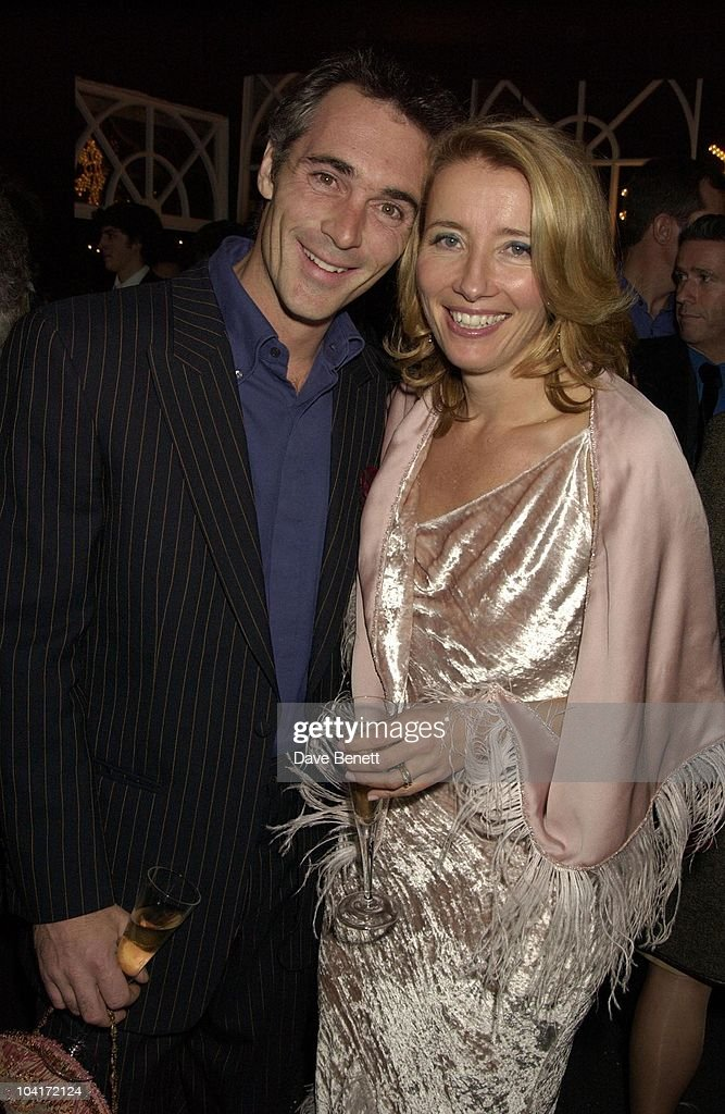 Gregg Wise & Emma Thompson, 'Love Actually' Movie Premiere After Party At The In & Out Club, London