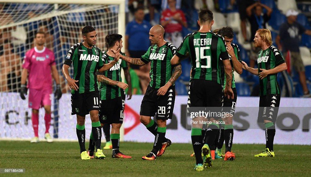US Sassuolo v Pescara Calcio - Serie A : News Photo