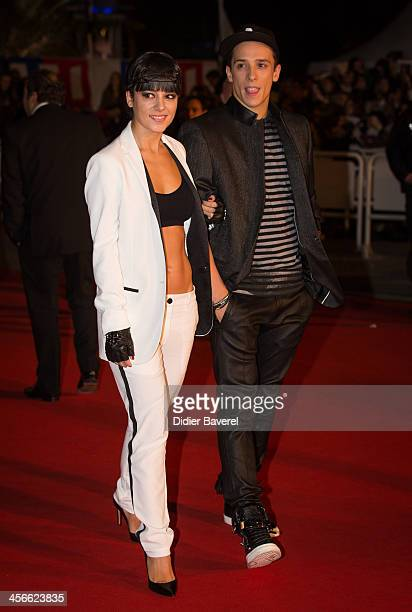 Gregoire Lyonnet and Alizee attend the 15th NRJ Music Awards at Palais des Festivals on December 14 2013 in Cannes France