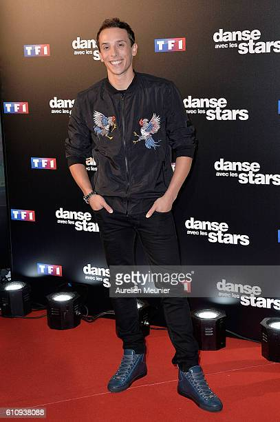 Gregoire Lyonnet poses during the 'Danses With The Stars' photocall on September 28 2016 in Paris France