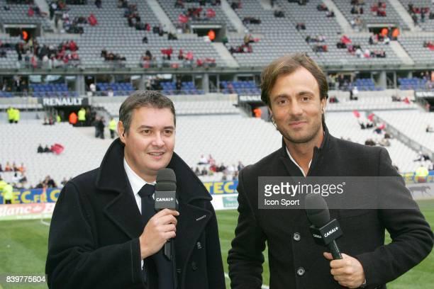 Gregoire Margotton / Christophe DUGARRY Lille / Lyon 27e journee Ligue 1 Stade de France