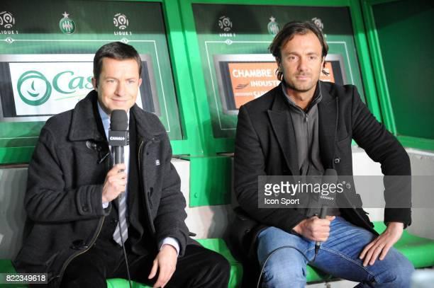 Gregoire MARGOTTON / Christophe DUGARRY Saint Etienne / Nantes 27 eme journee de Ligue 1