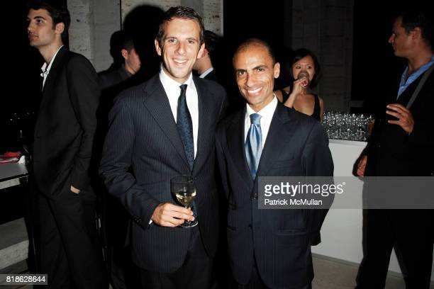 Gregoire Vogelsang and Simeone Scaramozzino attend NEW YORK CITY BALLET'S Dance with the Dancers Benefit at David H Koch Theater Lincoln Center on...