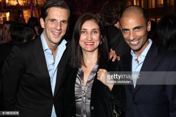 Gregoire Vogelstein Anna Palacios and Simeone Scaramozzino attend Evening Reception For HENRI CARTIERBRESSON THE MODERN CENTURY at MoMA on April 6...