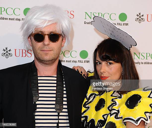 Gregor Angus and Juliet Angus attend the NSPCC Pop Art Ball at Banqueting House on May 24 2012 in London England