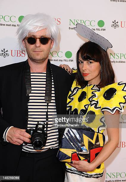 Gregor Angus and Juliet Angus attends the NSPCC Pop Art Ball at Banqueting House on May 24 2012 in London England