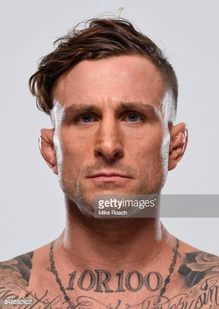 Gregor Gillespie poses for a portrait during a UFC photo session on September 13 2017 in Pittsburgh Pennsylvania