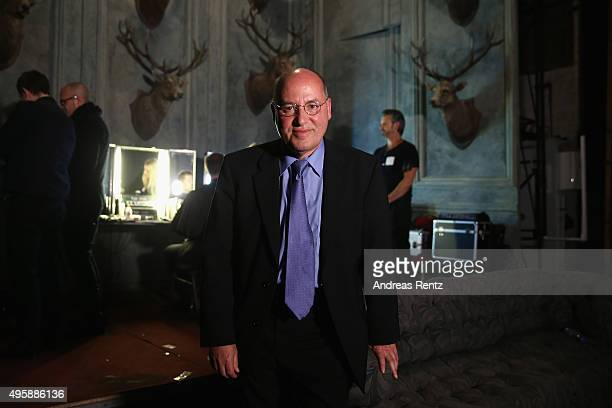 Gregor Gysi is seen backstage at the GQ Men of the year Award 2015 at Komische Oper on November 5 2015 in Berlin Germany