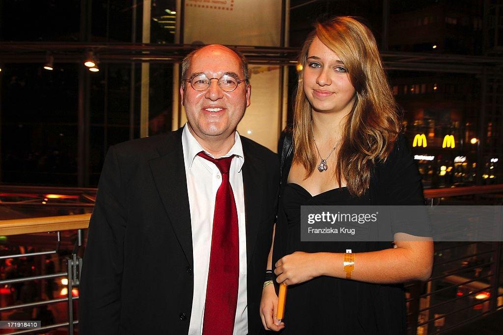Gregor Gysi Mit Tochter Anna Bei Der Aftershowparty Im