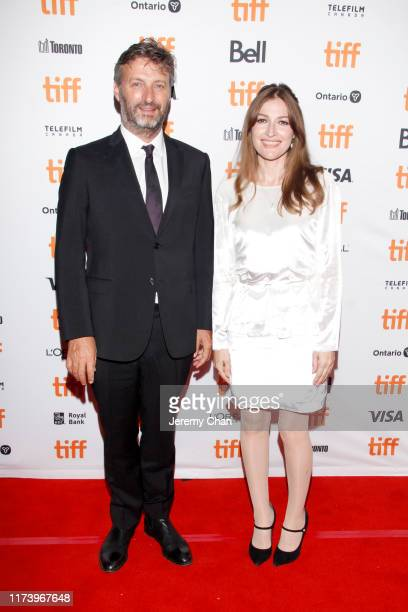 Gregor Jordan and Kelly Macdonald attend the Dirt Music premiere during the 2019 Toronto International Film Festival at The Elgin on September 11...