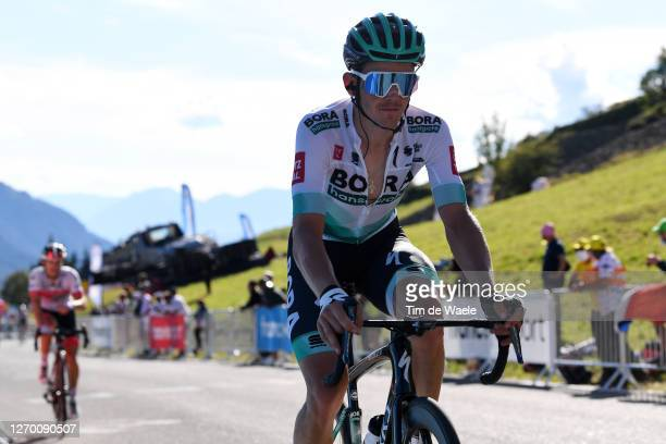 Gregor Muhlberger of Austria and Team Bora - Hansgrohe / during the 107th Tour de France 2020, Stage 4 a 160,5km stage from Sisteron to...