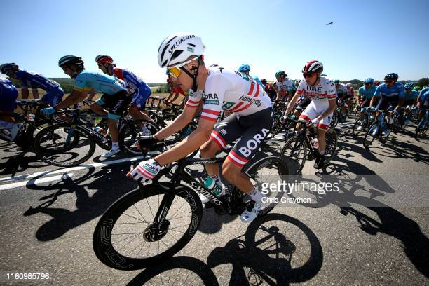 Gregor Muhlberger of Austria and Team Bora-Hansgrohe / during the 106th Tour de France 2019, Stage 4 a 213,5km stage from Reims to Nancy / TDF /...