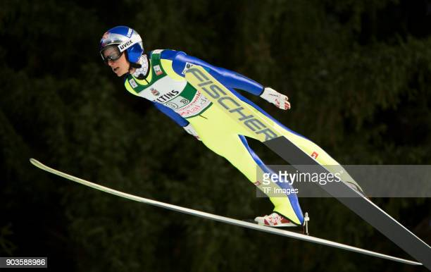 Gregor Schlierenzauer of Austria competes during the FIS Ski Jumping World Cup on December 09 2017 in TitiseeNeustadt Germany