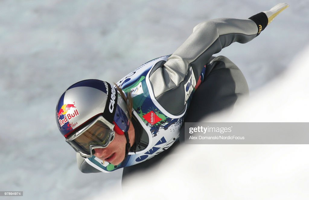 Gregor Schlierenzauer of Austria competes during the individual event of the Ski jumping World Championships on March 20, 2010 in Planica, Slovenia.