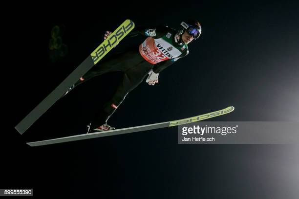 Gregor Schlierenzauer of Austria competes during the qualification round for the Four Hills Tournament on December 29 2017 in Oberstdorf Germany