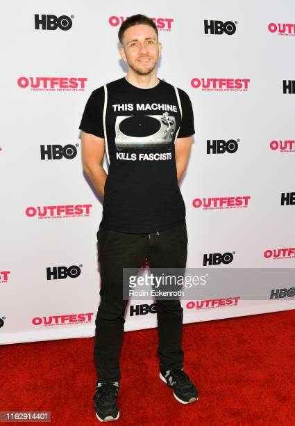Gregor Schmidinger attends the Outfest Los Angeles LGBTQ Film Festival Opening Night Gala premiere of Circus Of Books at Orpheum Theatre on July 18...