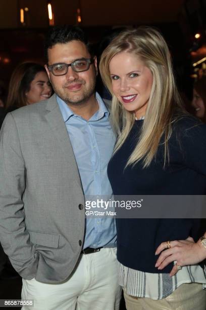 Gregori J Martin and Crystal Hunt are seen on October 23 2017 in Los Angeles California